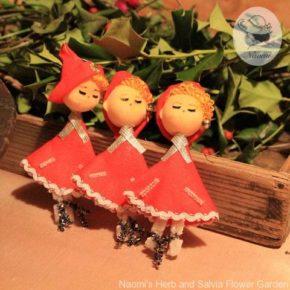 懐かしいクリスマスオーナメント① - お人形