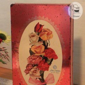 資生堂石鹸オリーブの缶① – 花束