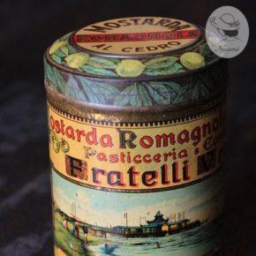 イタリアの古い缶