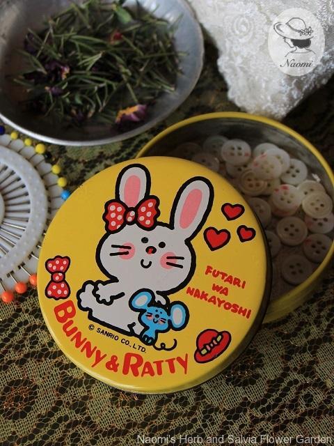 カンロ キャンデー缶 バニー&ラッティ