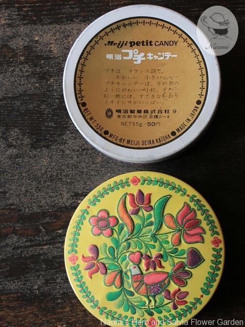 明治プチキャンデー缶
