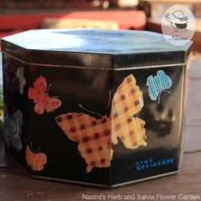 昭和レトロな煎餅おかきの缶①