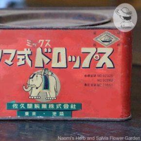 サクマ式ミックスドロップスの昭和レトロな大缶