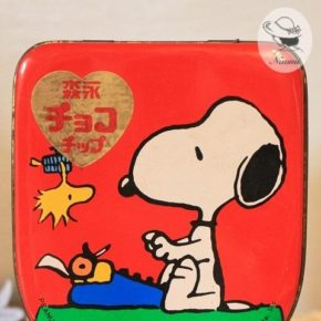 森永チョコチップ スヌーピーの缶⑦
