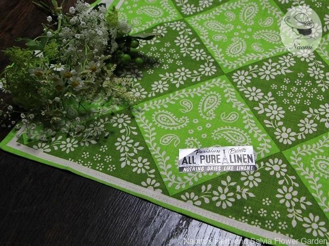 Vintage Parisian Prints Linen Tea Towel
