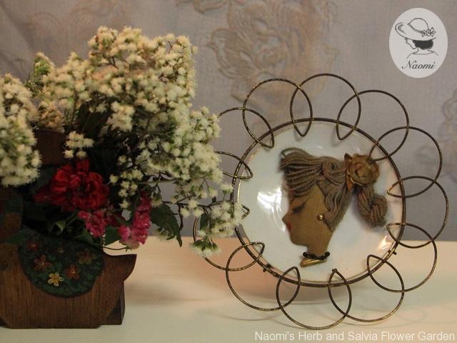 昭和レトロな飾り皿