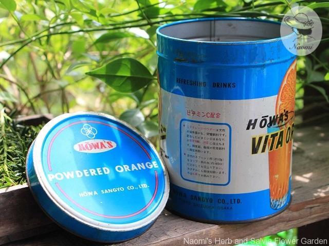 粉末ジュースの昭和レトロな缶