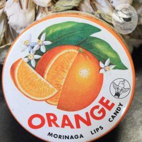 森永リップスキャンデー缶③ – オレンジ