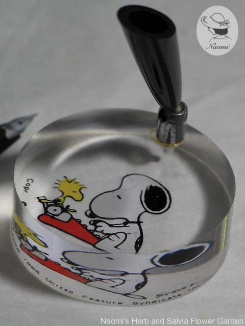 Vintage Snoopy Pen Holder ビンテージ スヌーピーペン立て