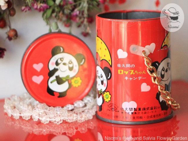 佐久間ロップちゃんキャンディー缶 ルネパンダ