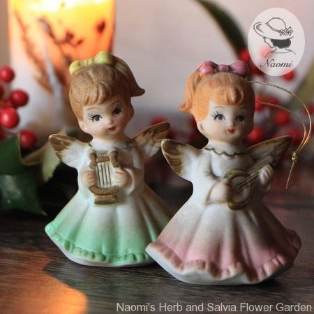 昭和レトロなクリスマスオーナメント 天使