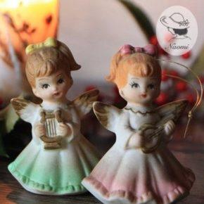 懐かしいクリスマスオーナメント④ - 天使