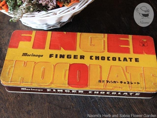 森永フィンガーチョコレートの缶