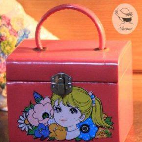 昭和レトロな女の子のオシャレバッグ