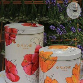 昭和レトロな砂糖缶⑥ - カップ印