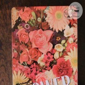 森永フラワービスケットの缶⑧ - 花々