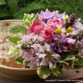 Today's Bouquet ~クラウンベッチを摘んで