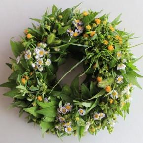草の花リース