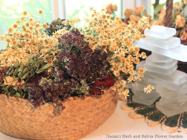 ハーブクラフトの花材