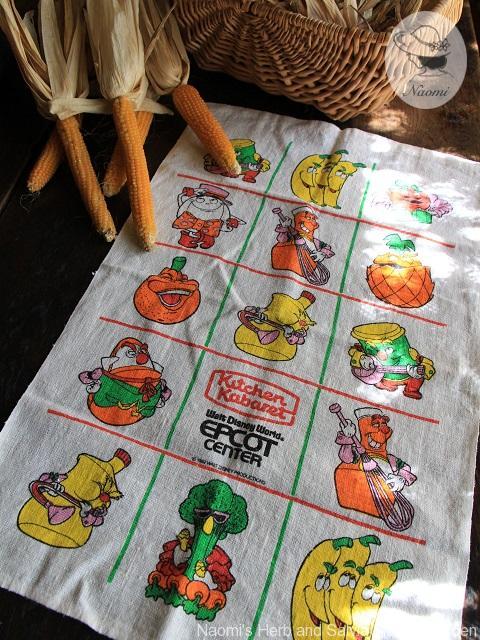 Kitchen Kabaret tea towel