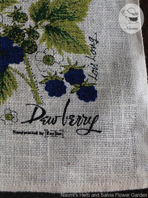 Berries Kay Dee Tea Towel