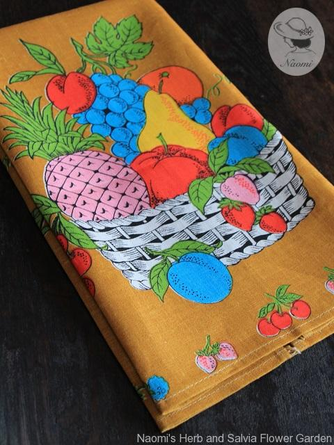 Fruit Basket Tea Towel Parisian Prints