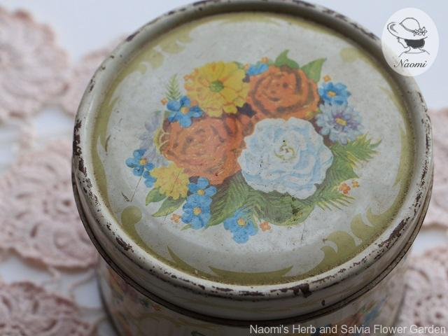 Vintage Body Powder Tin