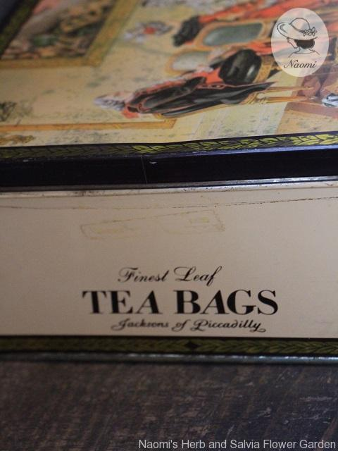 Jacksons of Piccadilly Tea Bags vintage tin