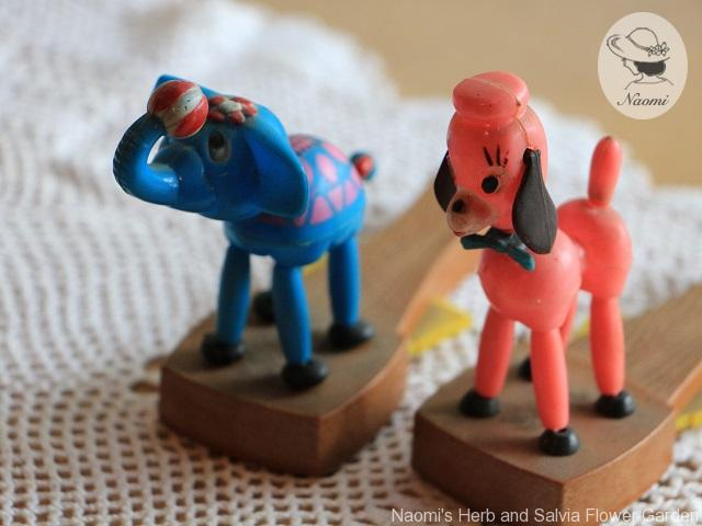Vintage Push Button Puppets