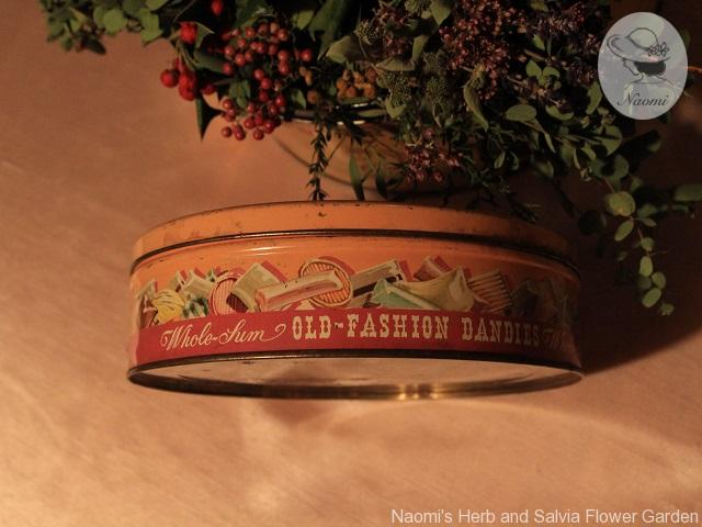 Vintage Whole sum Candy Tin