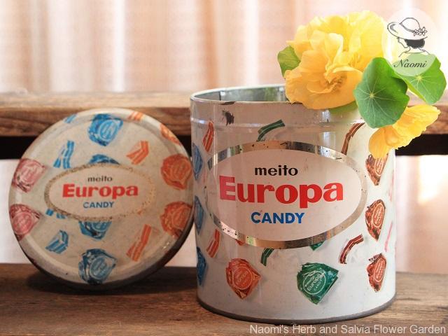 名糖ヨーロッパキャンディ缶
