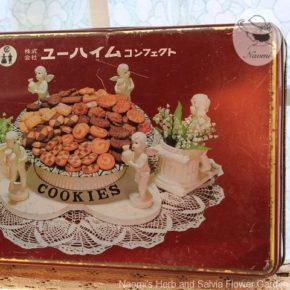 ユーハイムコンフェクトの昭和レトロなクッキー缶①