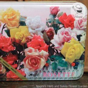 明治ローゼットビスケット缶① - アーティフィシャルなバラ