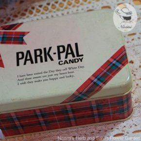 不二家パーク・パル キャンデーの昭和レトロな缶