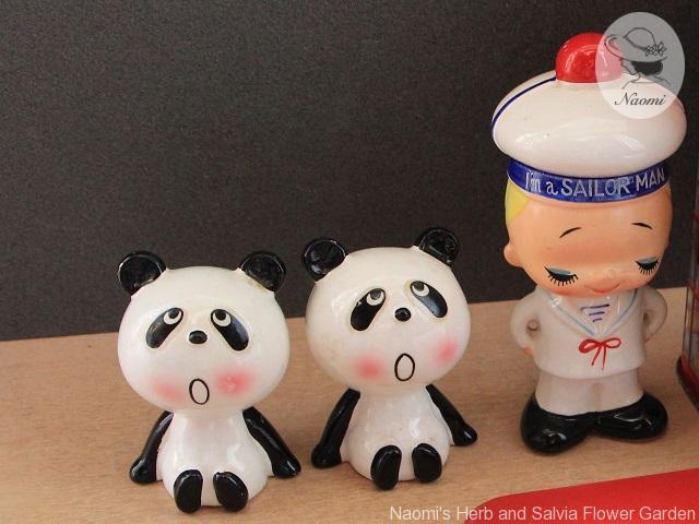 ルネパンダの陶器人形