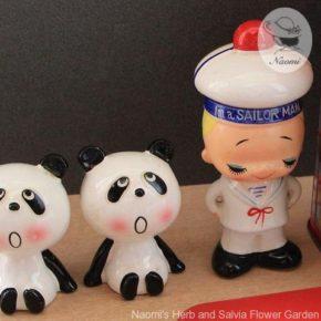 ルネパンダ 陶器人形