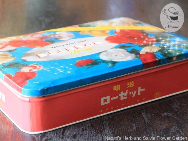 明治ローゼットビスケット缶②