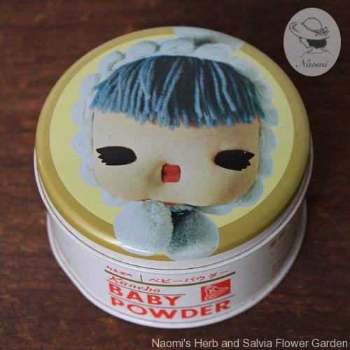 カネボウ ベビーパウダー昭和レトロ缶