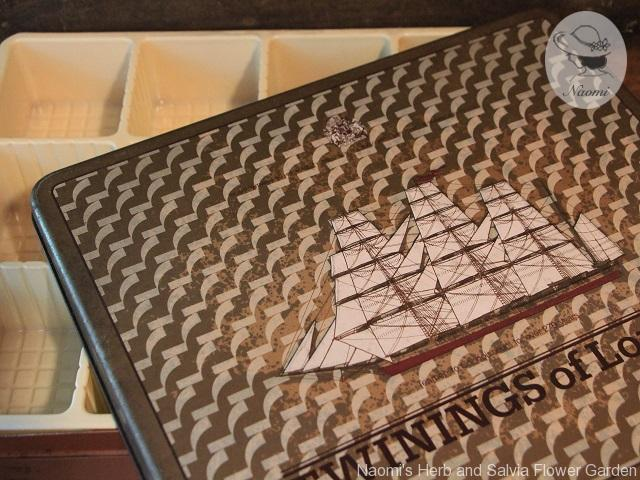 トワイニング紅茶の昭和レトロな缶 Twinings Tea Bags Tin