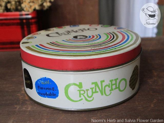 モロゾフ クランチョ チョコレートの缶