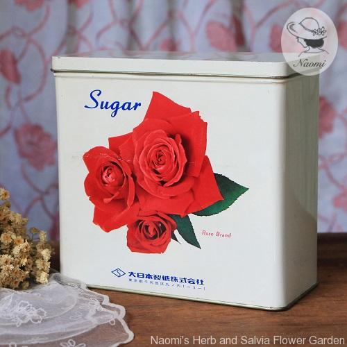 大日本製糖株式会社 昭和レトロな砂糖缶