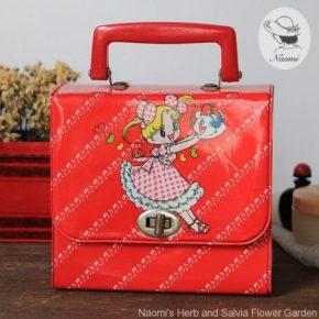 昭和レトロな女の子のおでかけバッグ
