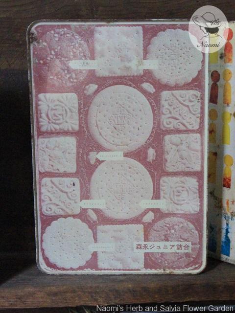 森永ジュニアビスケット缶 シルエット