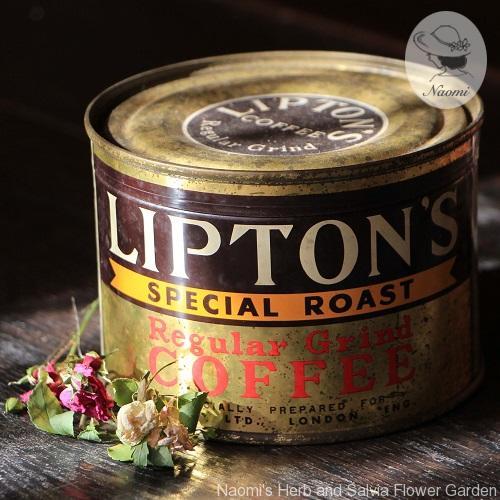 Lipton's Coffee Vintage tin