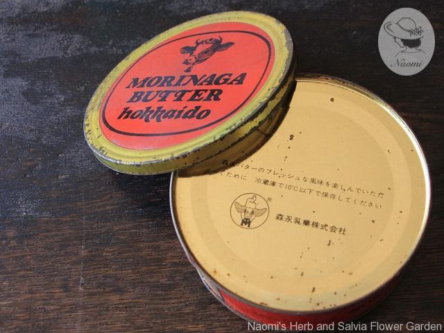 森永バター缶 昭和レトロ