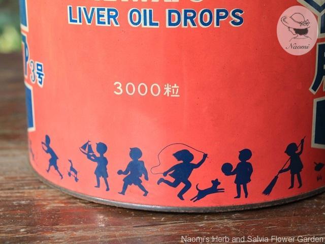 カワイ肝油ドロップ学校用 昭和レトロ缶