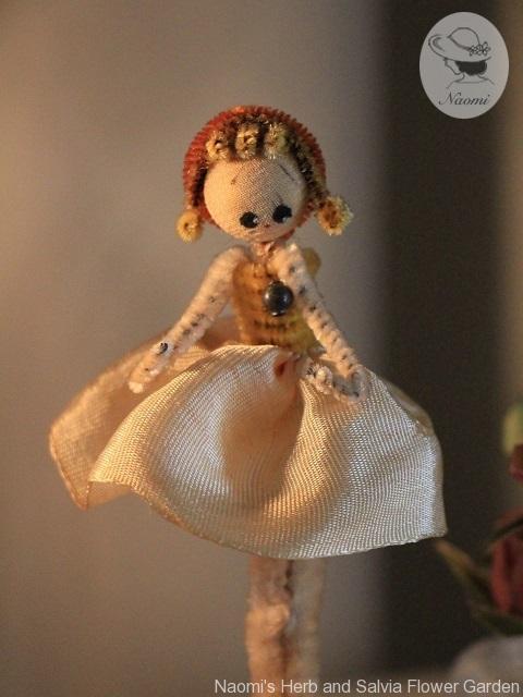 昭和レトロなモール人形 女の子