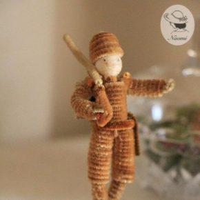 昭和レトロなモール人形② - 兵隊さん