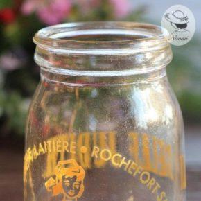 ビンテージのヨーグルト瓶① - La Belle Judith