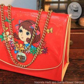 昭和レトロな女の子のバッグ